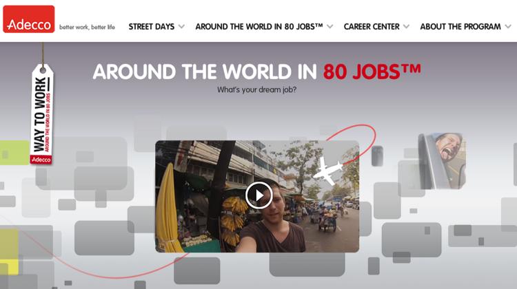 Adecco กับแคมเปญใหม่ หาคนทำ 80 งานใน 80 ประเทศ ในเวลา 80 วัน