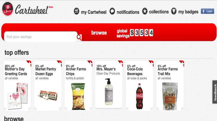 ห้าง Target แจกคูปองวิธีใหม่ด้วยเฟซบุ๊ก