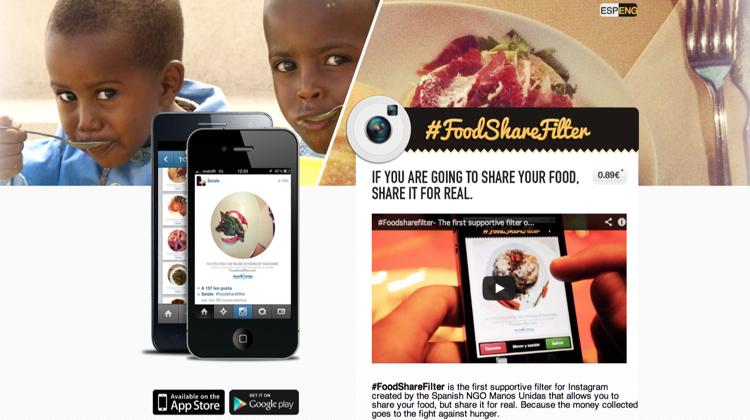 NGO ใช้แอปฯสไตล์ Instagram กระตุ้นยอดบริจาคเพื่อเด็กหิวโหย