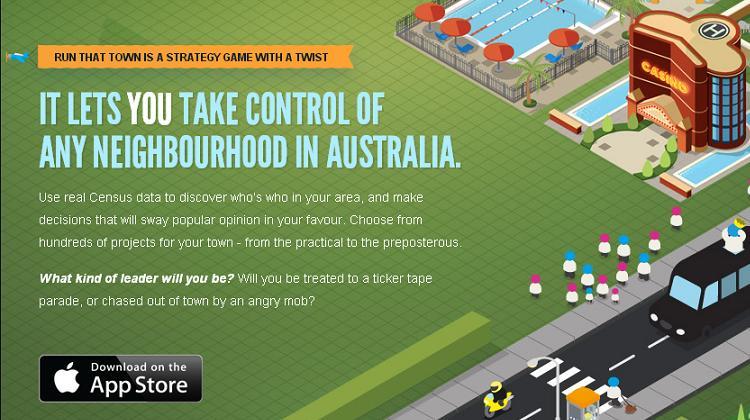 ออสเตรเลียโชว์แอปเกมโปรโมทข้อมูลสำมะโนประชากร