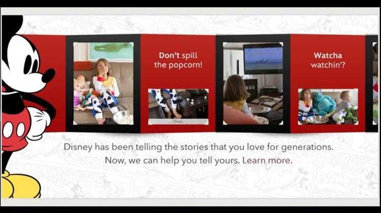 Disney คลอดแอป iPhone ช่วยครอบครัวจัดรูป-วิดีโอ