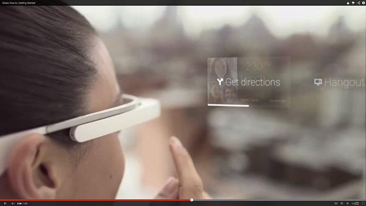 Google เปิดตัววิดีโอสอนใช้ Google Glass
