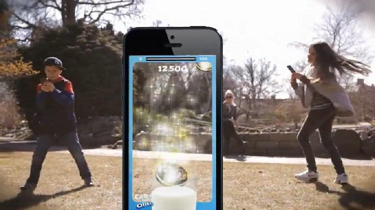Oreo คลอดแอปเกม AR เก็บฝนคุ้กกี้
