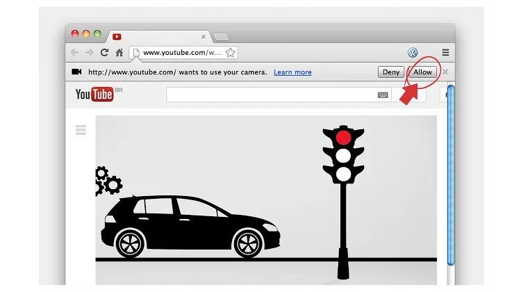 Volkswagen โปรโมทตัวเองด้วยแอป Chrome