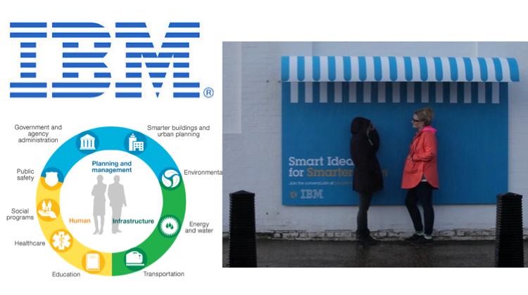 IBM กระตุ้นคนแลกเปลี่ยนไอเดียด้วยป้ายโฆษณาสารพัดประโยชน์