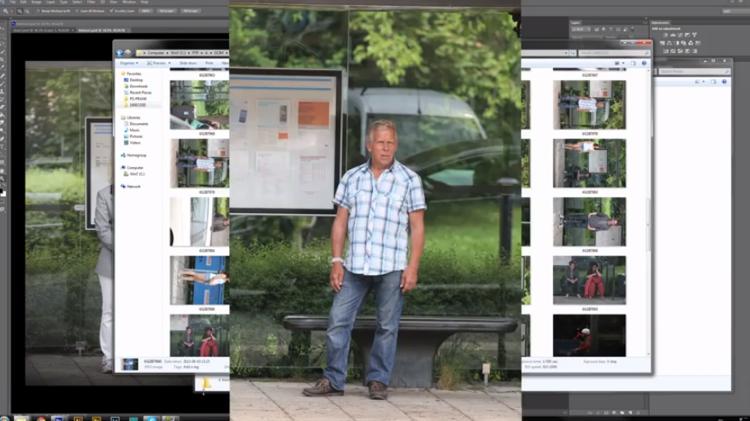 อโดบีขายโปรแกรมโฟโต้ช้อปที่ป้ายรถเมล์!