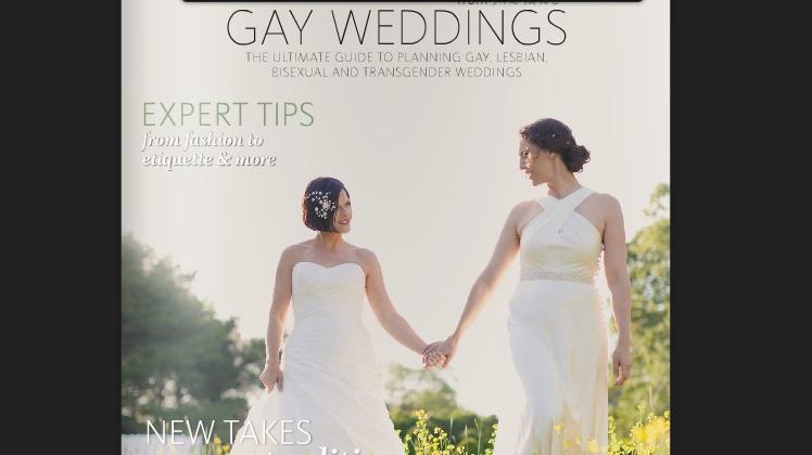 จุดพลุนิตยสารออนไลน์เล่มใหม่เพื่อชาวสีรุ้ง Gay Weddings