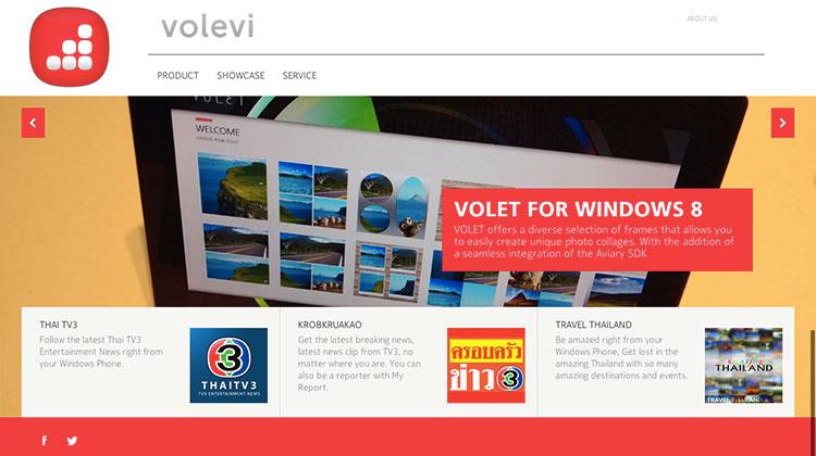 """""""Volevi"""" น้องใหม่มาแรงแห่งผู้พัฒนาแอพฯ วินโดว์โฟน"""