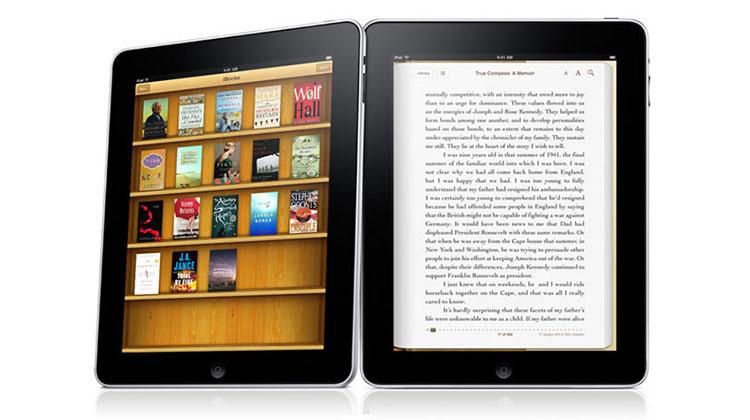 Apple เคลมได้ส่วนแบ่งการตลาด e-book 20%