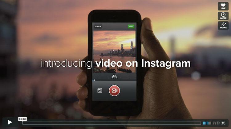 Instagram เปิดฟีเจอร์ใหม่ให้แชร์วิดีโอแล้ว #video #instagram