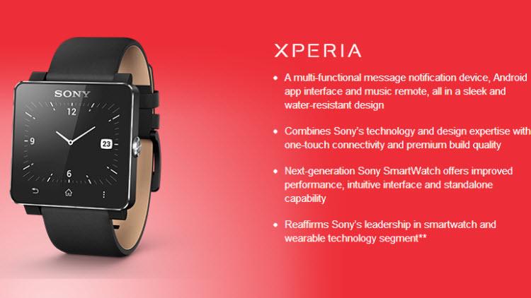 Sony เปิดตัวนาฬิกา SmartWatch2 ระบบ Android สุดเมพ