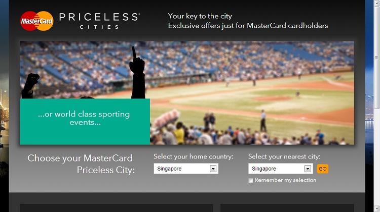 MasterCard เตรียมขยายโครงการ Priceless Cities คลุมทั่วโลก