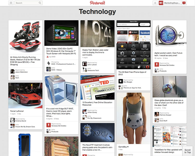 pinterest-technology
