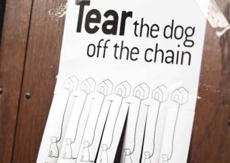 ฉีกไอเดีย ! โฆษณา Tear Off