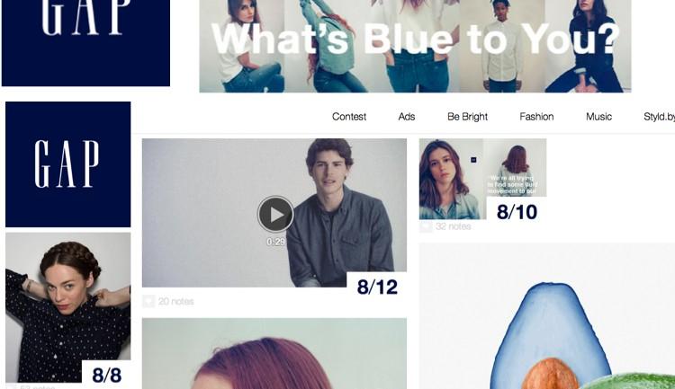 Gap เข้าหา Tumblr ชวนลูกค้ามาเป็นครีเอทีฟให้แบรนด์