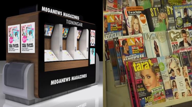 สวีเดนออกนิตยสาร On Demand พิมพ์ร้อนๆ ออกจากเครื่องถึงมือเรา