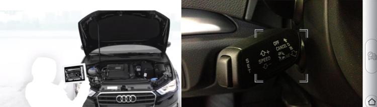 Audi ออกแอปฯ AR แทนคู่มือการใช้รถ