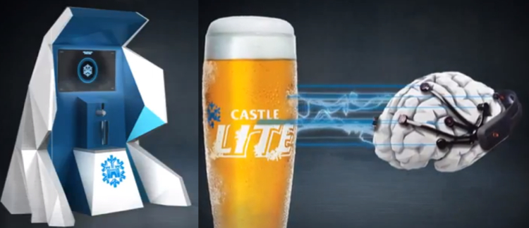 เบียร์ฝรั่งกับกลยุทธ์แจก Sampling สุดไฮเทค อ่านคลื่นสมองเพื่อลิ้มลองเบียร์เย็นๆ