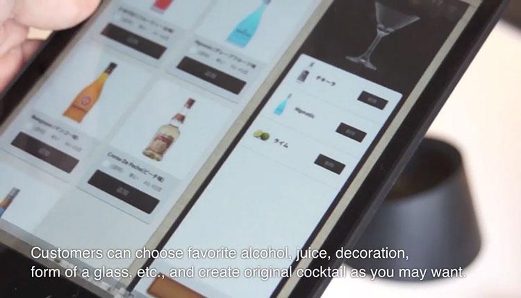 iPad Social Bar ไอเดียสั่งเครื่องดื่มผ่าน iPad