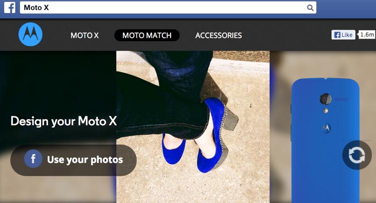 กูเกิลลุยทุกสื่อโปรโมท Moto X มือถือออกแบบเองได้
