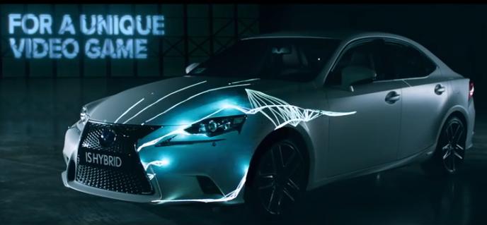 Lexus ขายรถแรงๆ ด้วยการแอปฯเกมไอแพดควบคุมทิศทางรถ