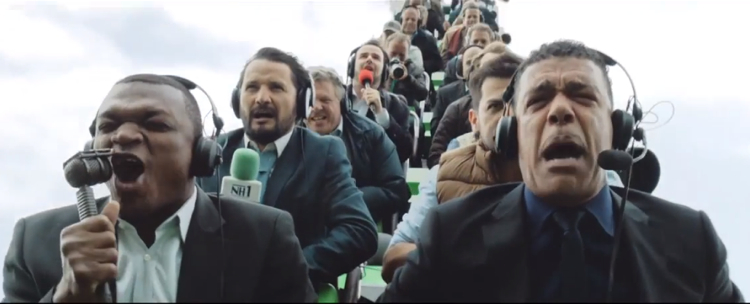 โฆษณาใหม่คาร์สเบิร์กใช้รถไฟเหาะเป็น Symbolic เข้าถึง Insight คนคลั่งบอล!