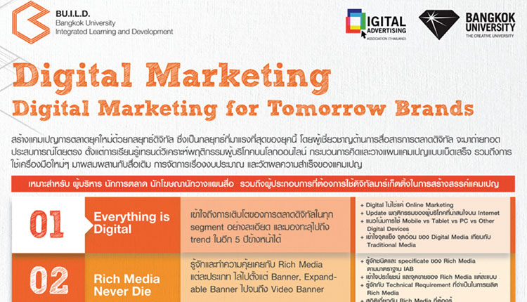 Digital Marketing for Tomorrow Brands