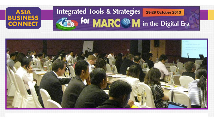 #สัมมนา Integrated Tools & Strategies for MARCOM in the Digital Era