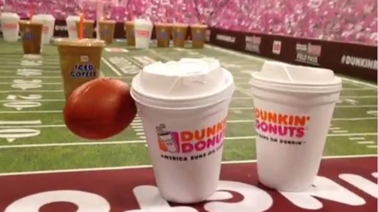 Dunkin Donuts เกาะกระแสอเมริกันฟุตบอลผ่าน Vine