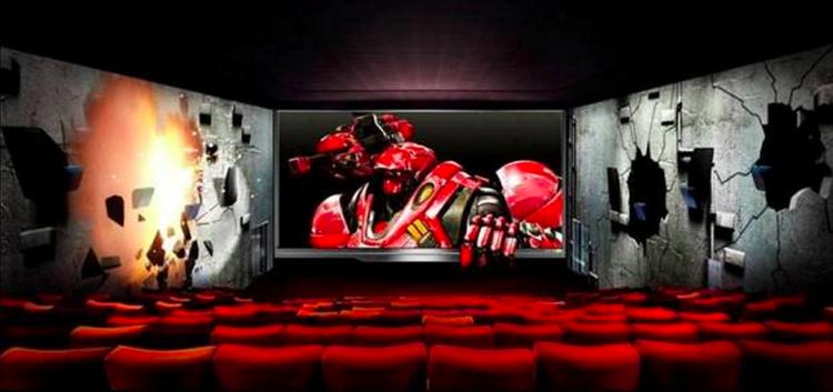 เกาหลีโชว์ล้ำนวัตกรรใหม่ ScreenX โรงหนัง 3 จอในโรงเดียว!