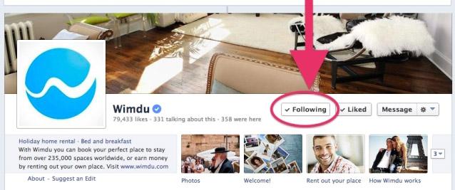 เฟซบุ๊คทดลองปุ่ม Follow เพจข้างๆ Like