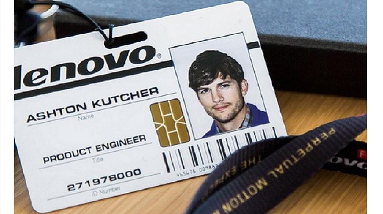 Lenovo ดึงดารา Ashton Kutcher นั่งตำแหน่ง Product Engineer