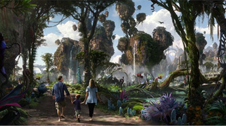 "Disney โชว์ภาพแรก ""Avatar Land"" บนบล็อก"