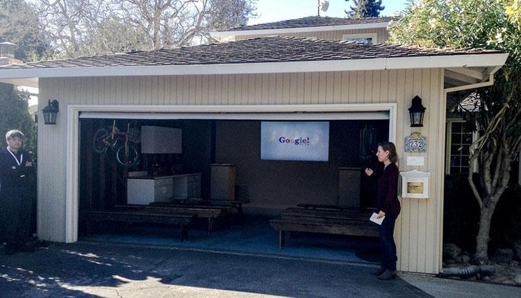 Google ฉลองครบรอบ 15 ปี เปิดโรงรถ ออฟฟิสแห่งแรกในปี 1997