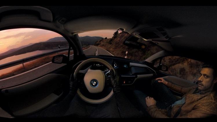 BMW i3 โชว์ตัวในภาพยนตร์อินเทอร์แอคทีฟ 360 องศา