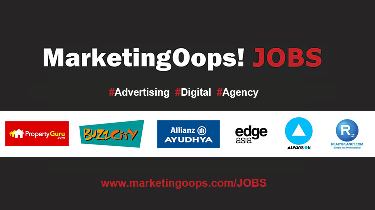 อัพเดท…งานด้านดิจิตอลมาใหม่จาก MarketingOops Jobs ประจำวันที่ 4 ตุลาคม 2556