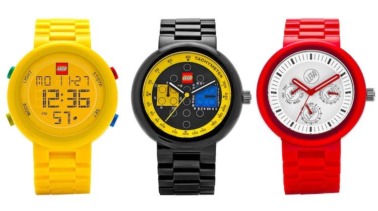 น่ารักน่าใช้!! Lego พร้อมขายนาฬิกาผู้ใหญ่