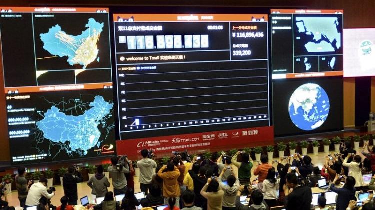 เว็บจีนทำได้! ขายสินค้าออนไลน์ 1 พันล้านหยวนใน 6 นาที