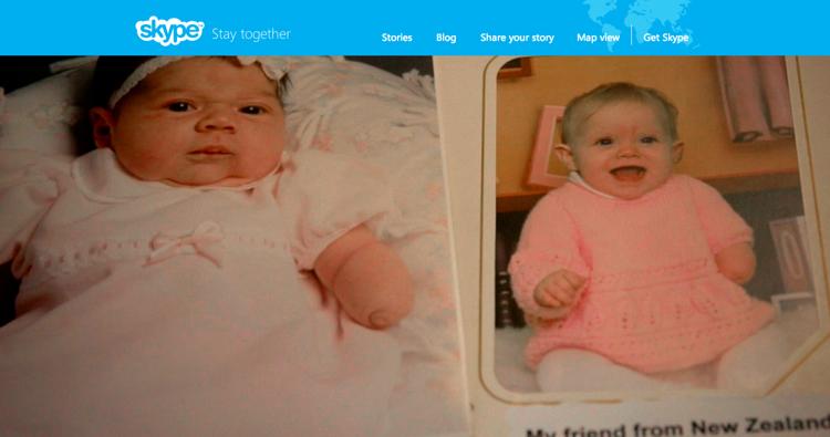 Skype กับโฆษณาสุดซึ้งภาคใหม่คู่ไปกับ CSR ด้วยการเชื่อม 2 สาวไร้แขนเข้าหากัน
