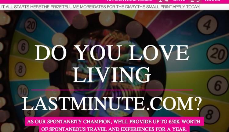 Lastminute.com ฉลองการใช้ชีวิตแบบฉุกละหุกด้วยกิจกรรมออนไลน์แจกเงิน 2.5 ล้านเที่ยวทั่วโลก