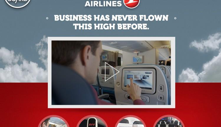 Turkish Airlines ใช้สื่อในเครื่องบินชวนลงทุนกับสตาร์ทอัป