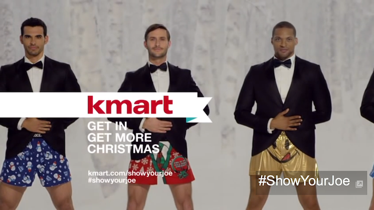ไวรัลแห่งสัปดาห์ Kmart โชว์ความฮาพร้อมกางเกงบ็อกเซอร์