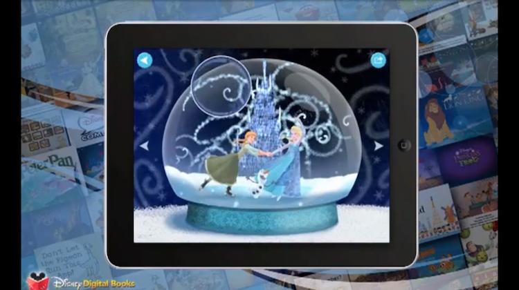Disney ชวนเด็กซื้อตั๋วชมภาพยนตร์ด้วยแอปพลิเคชันเล่านิทาน