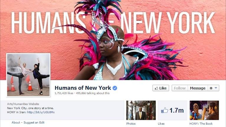 """""""Human of"""" เพจดังยอดคลิกนับล้าน ที่ Facebook ไม่ต้องลงทุนสักแดง"""