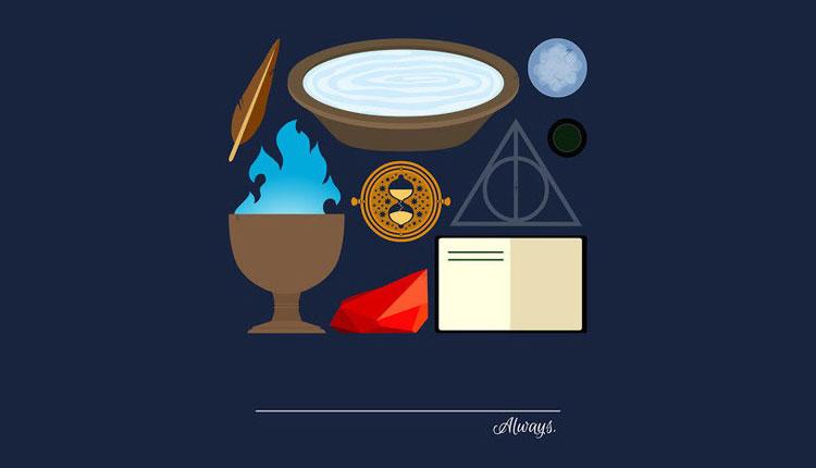 ทึ่ง กับโปสเตอร์โปรโมทหนังสือ Harry Potter ซีรีย์ใหม่