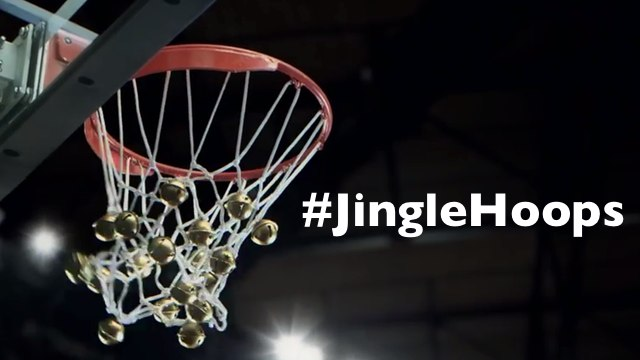 NBA's coming to town! ชู้ตบาสเป็นเพลง Jingle Bells