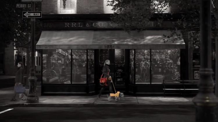 ไม่ใช่ catwalk แต่ Ralph Lauren ชู dogwalk