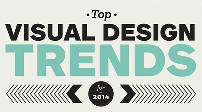 เทรนด์ visual design ที่น่าจับตามองในปี 2014