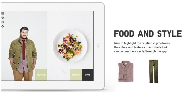 Uniqlo ออกแอปฯ ทำอาหารที่ได้แรงบันดาลใจจากเสื้อผ้า