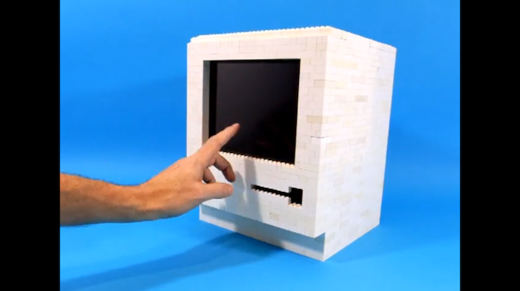 นักโฆษณานอร์เวย์เปลี่ยน LEGO เป็นคอมพิวเตอร์
